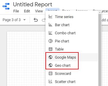 Google Map Geo Chart data studio