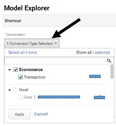 one conversion type selected