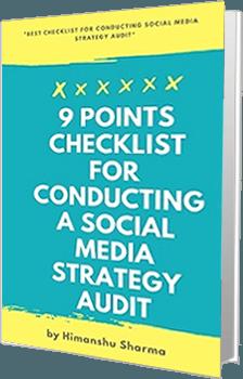 9 point checklist social media