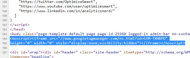 body install google tag manager2