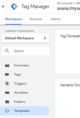 gtm templates