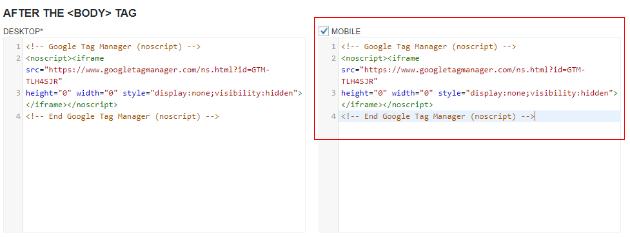 gtm wordpress guide paste body code to plugin 2 part 2