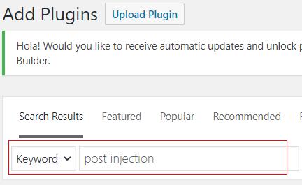 search for plugin 2