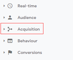 Acquisition reports