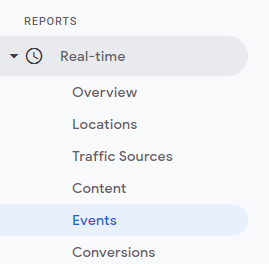 Realtime events