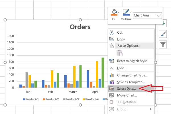 compare data excel select data