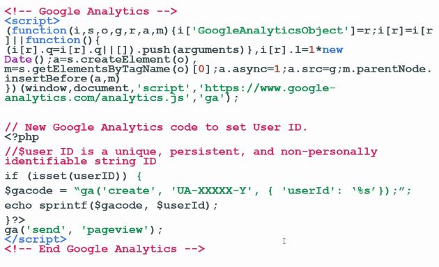 ga user id analytics code