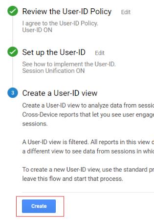 ga user id create button