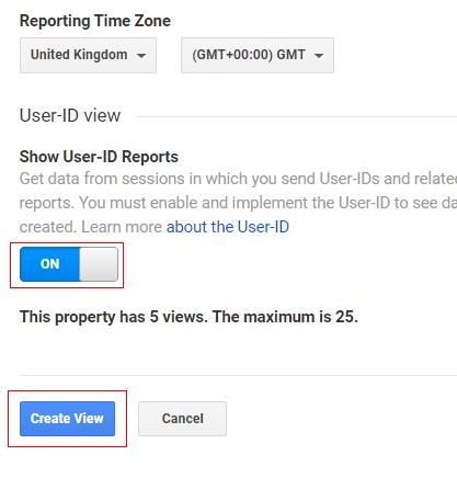 ga user id create view