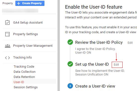 ga user id edit user id