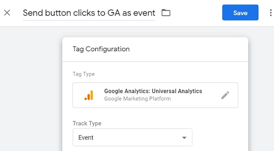 gtm event tracking tag configuration