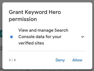 grant keyword hero permission3