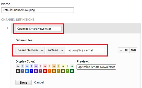 new marketing channel google analytics 1