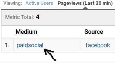 utm tracking paidsocial