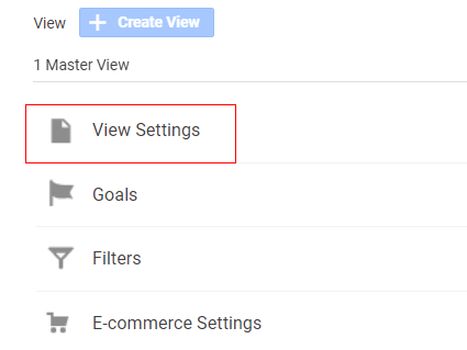 why direct traffic high View Settings