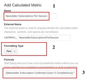 calculated metrics add calculated metric