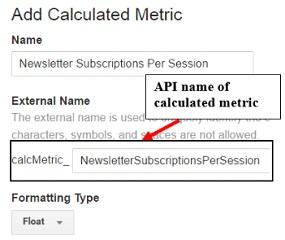 calculated metrics api name1