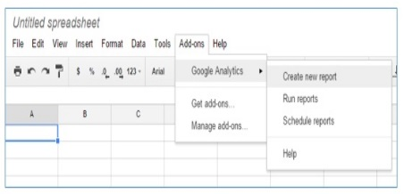 calculated metrics create new report