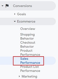 sales performance report 1