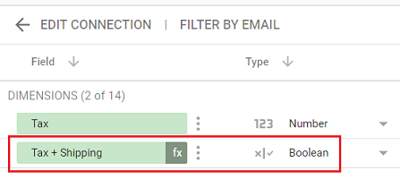 Changing the data type of your calculated field to incompatible data type
