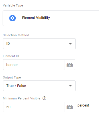 Element Visibility