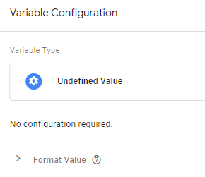 Undefined Value