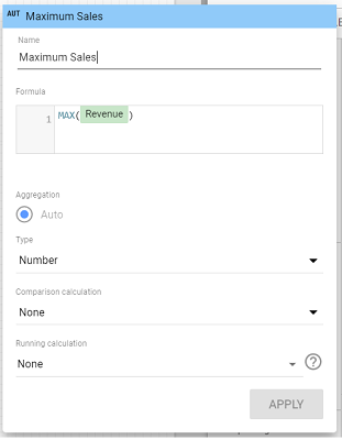 calculated field editor 2