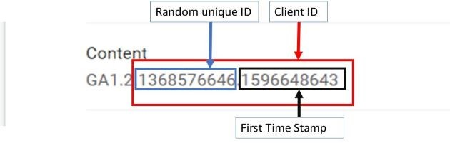 cross domain tracking client id 1