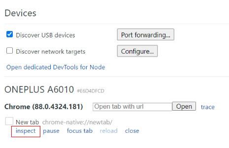 debugger tutorial click on inspect