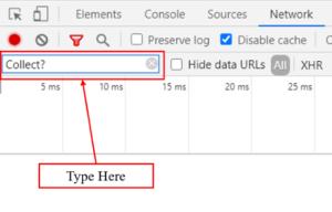 debugger tutorial collect type