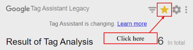 debugger tutorial star click on