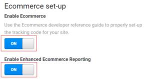 ecommerce tracking gtm Ecommerce set up 300x158 1