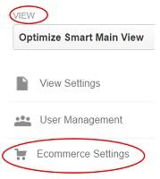 ecommerce tracking gtm ecommerce settings