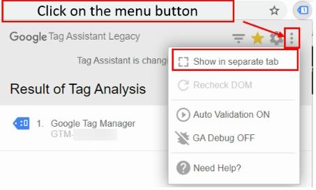 fix ga Click on menu button 1