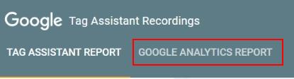fix ga GA report