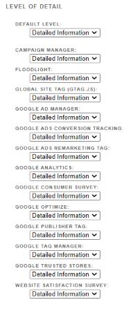 fix ga detailed information 1