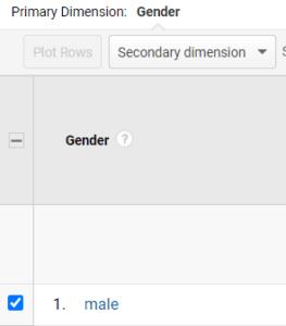 ga dimensions metrics group 1