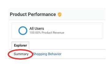 ga enhanced ecommerce tracking summary