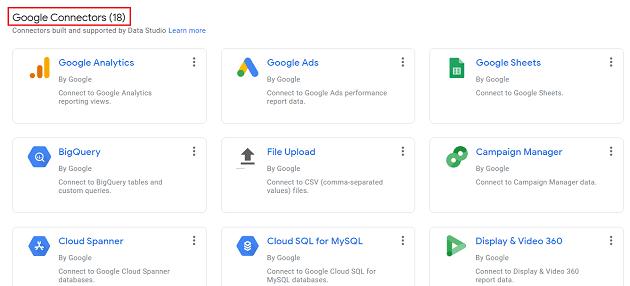 google connectors