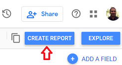 google data studio google sheets Create Report