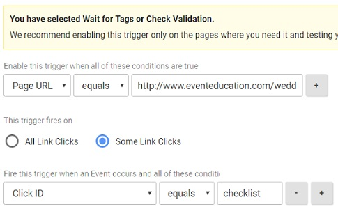 gtm virtual pageviews check for click on the download link2 2