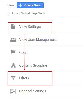 gtm virtual pageviews view settings