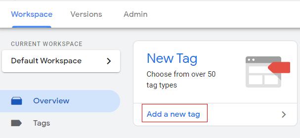 Add a new tag