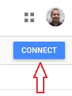 Connect button data studio