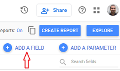 add a new calculated field in data studio