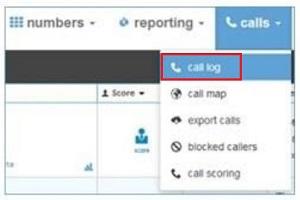 call log report