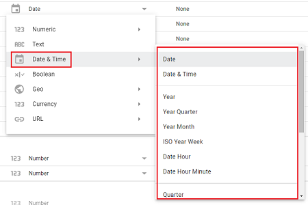 date and time data types 1