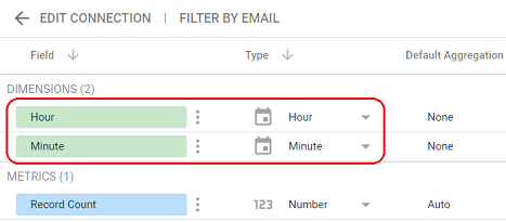 date and time data types adjust the field types of various time fields 2