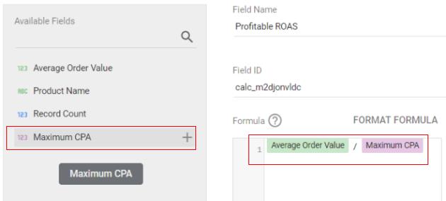 google data studio parameters formula