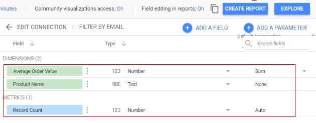 google data studio parameters google sheet3
